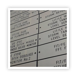 Engraved Traffolyte Labels