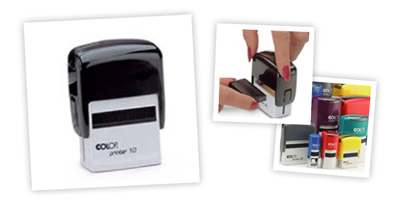 COLOP Self Inking Stamps