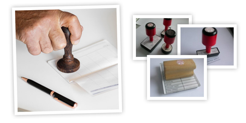 Traditional Rubber Stamps