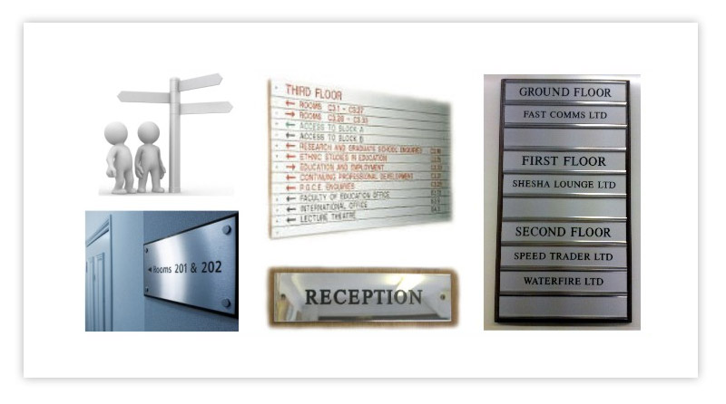 Location and Directional Signs