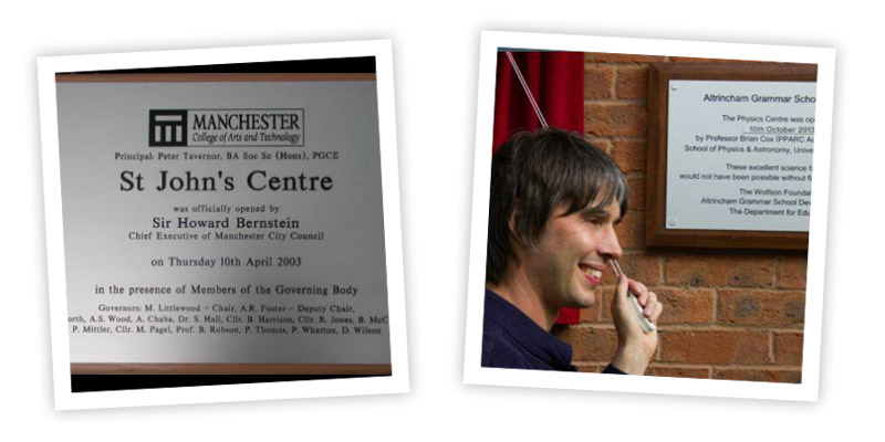 Opening Plaques