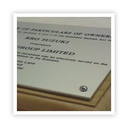Engraving Materials