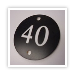 Engraved Table Numbers